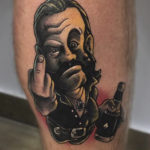 Godfathers Tattoo Lemmy Comic Tattoo