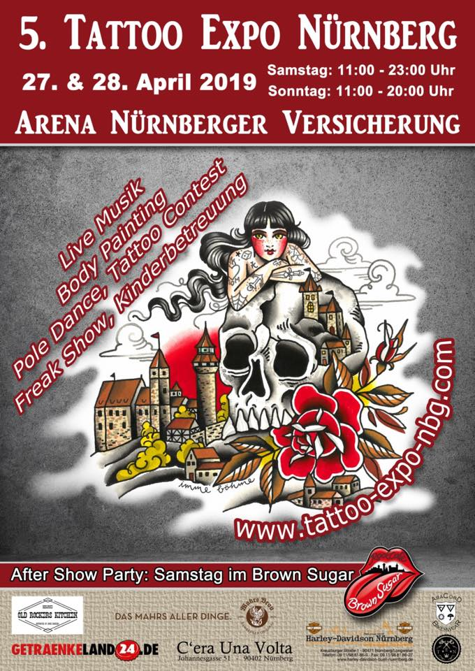 5. Tattoo Expo Nürnberg Plakat