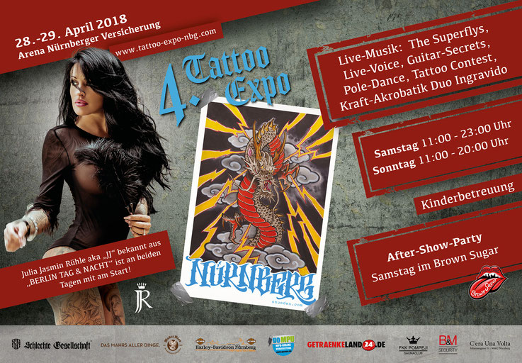 4. Tattoo Expo Nürnberg 2018