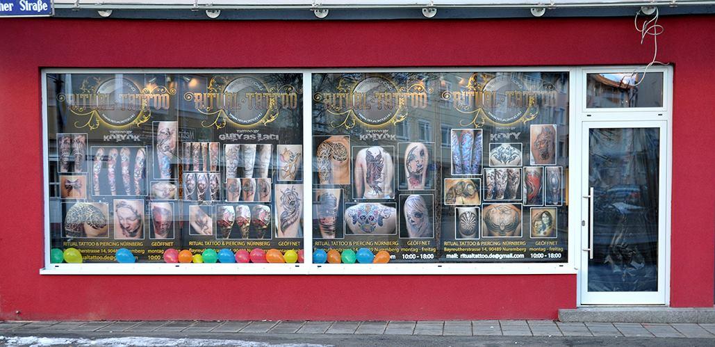 Tattoostudios Nürnberg Ritual Tattoo Header