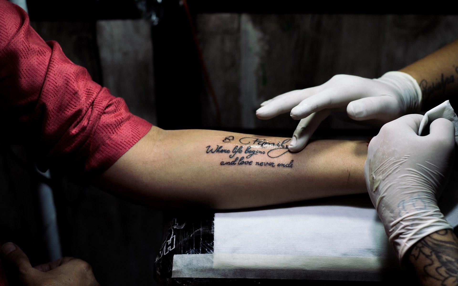Tattoostudios Nürnberg Tattoo Pflegeprodukte Headerbild